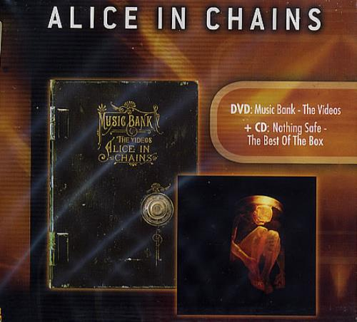 Alice In Chains Alice In Chains 2-disc CD/DVD set European AIC2DAL365523