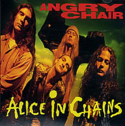 Alice In Chains Angry Chair Us Promo Cd Single Cd5 5