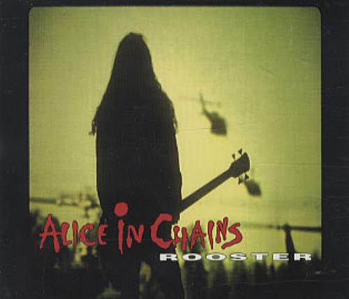 "Alice In Chains Rooster CD single (CD5 / 5"") German AICC5RO18175"