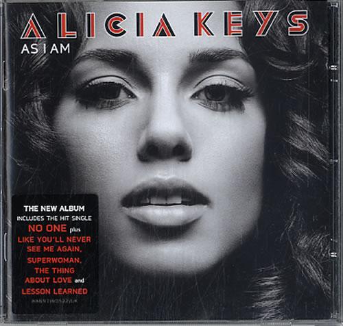 Alicia Keys As I Am CD album (CDLP) UK AKYCDAS419310