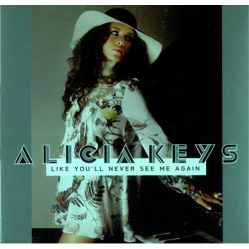 "Alicia Keys Like You'll Never See Me Again CD single (CD5 / 5"") US AKYC5LI421734"