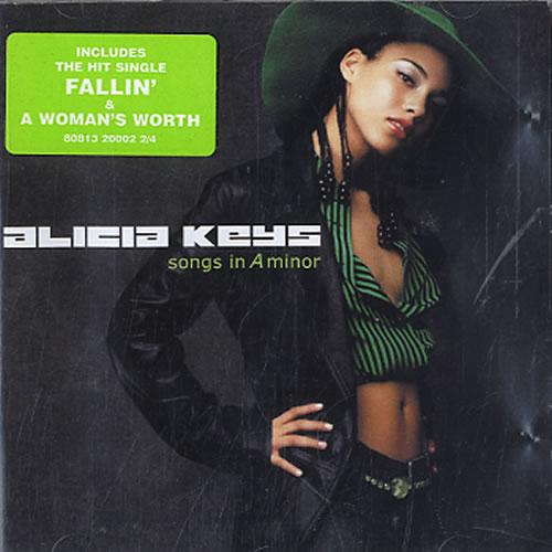 Alicia Keys Songs In A Minor CD album (CDLP) UK AKYCDSO607318
