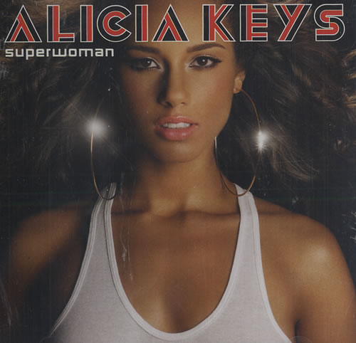 "Alicia Keys Superwoman CD single (CD5 / 5"") US AKYC5SU444061"