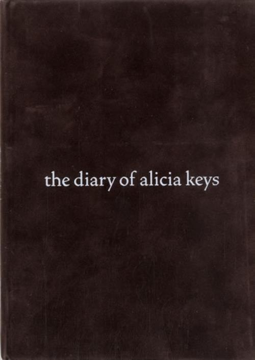 Alicia Keys The Diary Of Alicia Keys media press kit UK AKYKITH595026