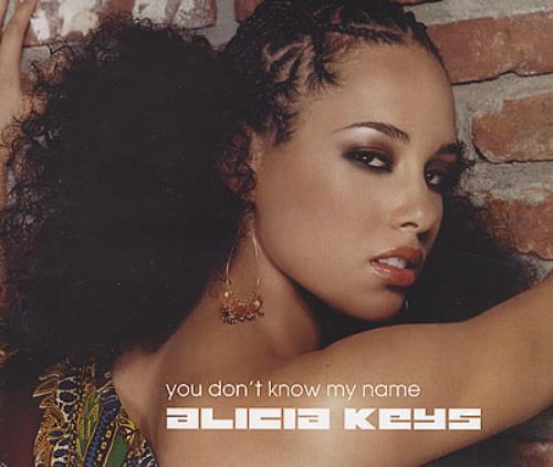 "Alicia Keys You Don't Know My Name CD single (CD5 / 5"") UK AKYC5YO381739"