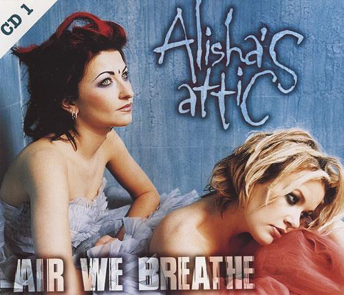 "Alisha's Attic Air We Breathe - CD1 CD single (CD5 / 5"") UK AATC5AI161179"