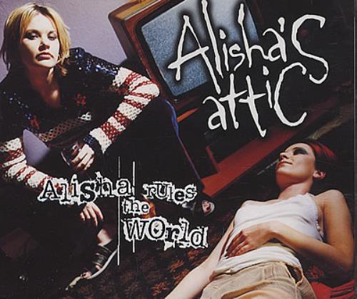 """Alisha's Attic Alisha Rules The World CD single (CD5 / 5"""") UK AATC5AL161175"""