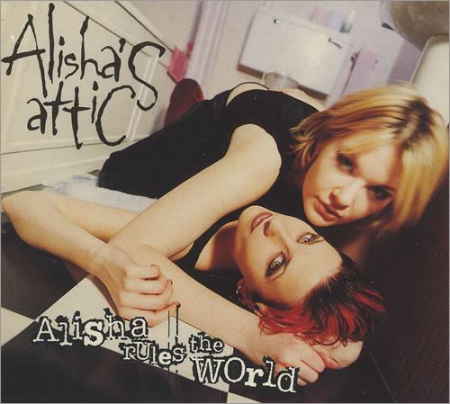 """Alisha's Attic Alisha Rules The World CD single (CD5 / 5"""") UK AATC5AL186494"""