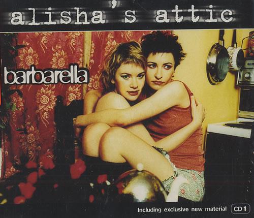 "Alisha's Attic Barbarella - Part 1 CD single (CD5 / 5"") UK AATC5BA161960"