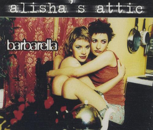 "Alisha's Attic Barbarella CD single (CD5 / 5"") UK AATC5BA132572"