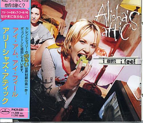 """Alisha's Attic I Am I Feel CD single (CD5 / 5"""") Japanese AATC5IA134167"""