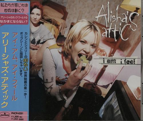 """Alisha's Attic I Am I Feel CD single (CD5 / 5"""") Japanese AATC5IA166392"""