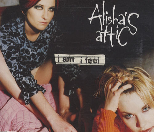 """Alisha's Attic I Am I Feel CD single (CD5 / 5"""") UK AATC5IA183117"""