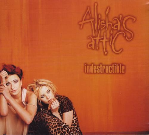 "Alisha's Attic Indestructible CD single (CD5 / 5"") UK AATC5IN173710"