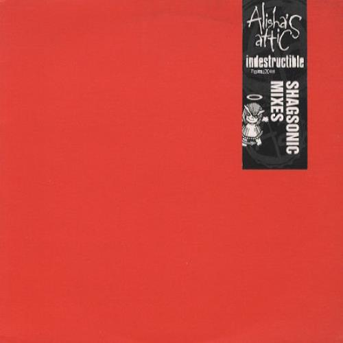 "Alisha's Attic Indestructible 10"" vinyl single (10"" record) UK AAT10IN80489"