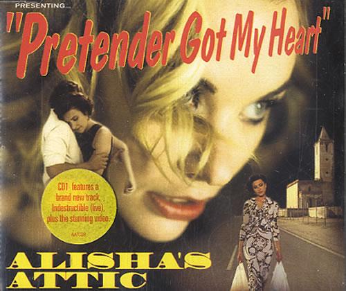 "Alisha's Attic Pretender Got My Heart - CD1 CD single (CD5 / 5"") UK AATC5PR592767"