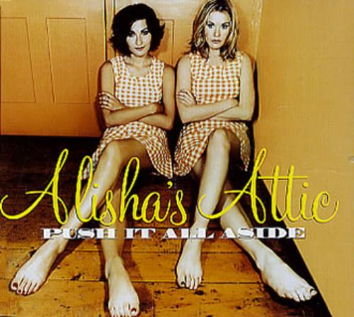"Alisha's Attic Push It All Aside CD single (CD5 / 5"") UK AATC5PU173329"