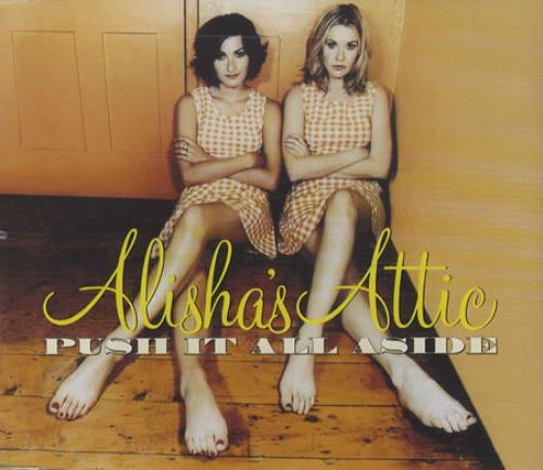 "Alisha's Attic Push It All Aside CD single (CD5 / 5"") UK AATC5PU457473"