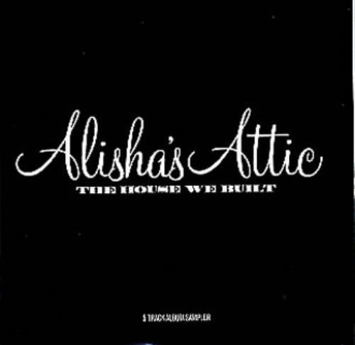 Alisha's Attic The House We Built CD-R acetate UK AATCRTH173375