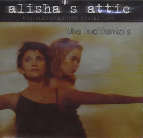 "Alisha's Attic The Incidentals CD single (CD5 / 5"") UK AATC5TH182714"