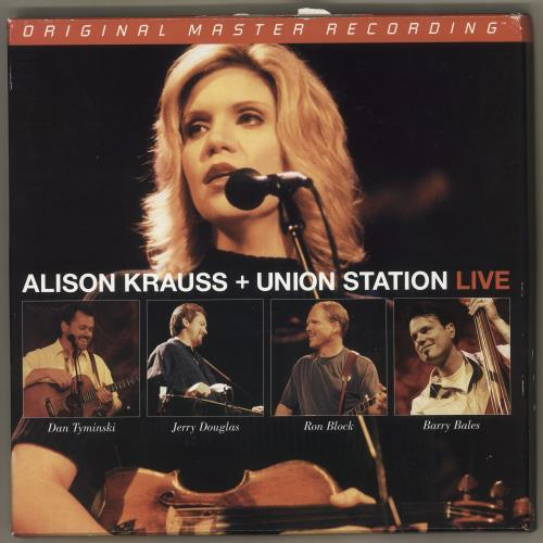 Alison Krauss Live 3-LP vinyl record set (Triple Album) US AKR3LLI468490