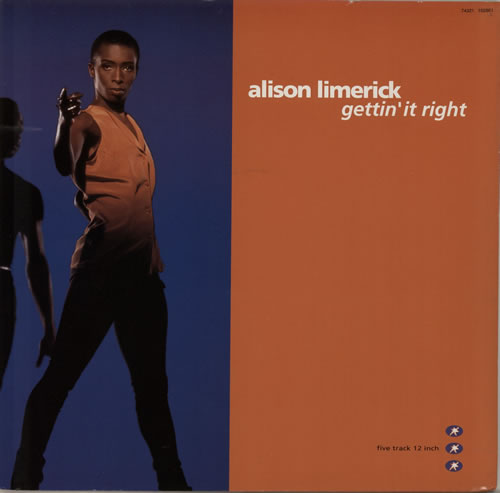 "Alison Limerick Gettin' It Right 12"" vinyl single (12 inch record / Maxi-single) UK LMK12GE629758"