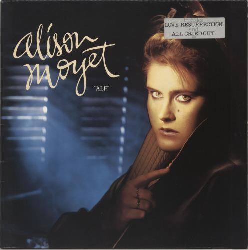 Alison Moyet Alf - Stickered vinyl LP album (LP record) UK MOYLPAL698556