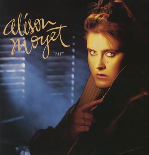 Alison Moyet Alf vinyl LP album (LP record) UK MOYLPAL238261