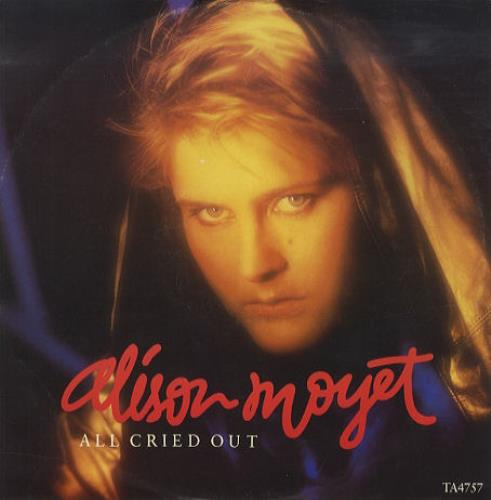 "Alison Moyet All Cried Out 12"" vinyl single (12 inch record / Maxi-single) UK MOY12AL46216"