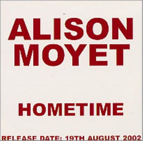 Alison Moyet Hometime CD album (CDLP) UK MOYCDHO222991