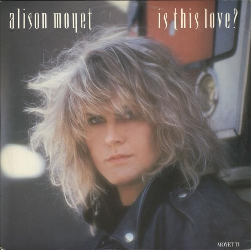 "Alison Moyet Is This Love? 12"" vinyl single (12 inch record / Maxi-single) UK MOY12IS18682"