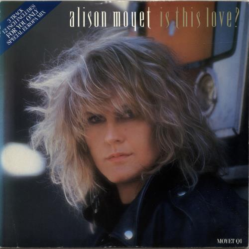 "Alison Moyet Is This Love? 12"" vinyl single (12 inch record / Maxi-single) UK MOY12IS42880"