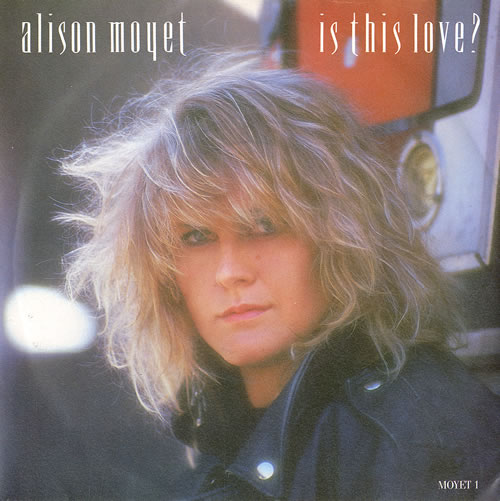 """Alison Moyet Is This Love ? 7"""" vinyl single (7 inch record) UK MOY07IS110072"""