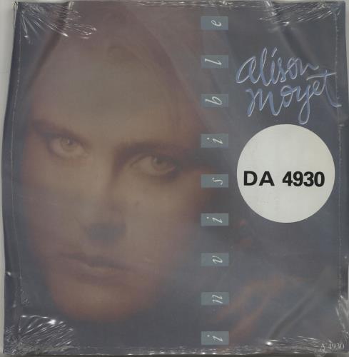 "Alison Moyet Love Resurrection + Invisible - Doublepack 7"" vinyl single (7 inch record) UK MOY07LO686514"