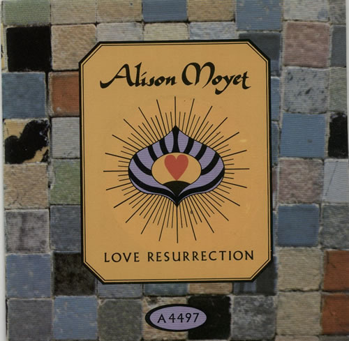 "Alison Moyet Love Resurrection 7"" vinyl single (7 inch record) UK MOY07LO289406"