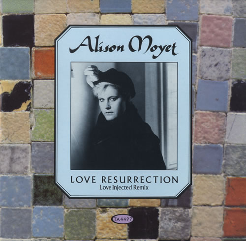 "Alison Moyet Love Resurrection 12"" vinyl single (12 inch record / Maxi-single) UK MOY12LO47316"