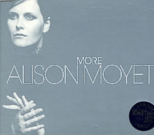 "Alison Moyet More CD single (CD5 / 5"") UK MOYC5MO264712"