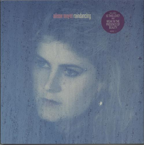 Alison Moyet Raindancing - Circular stickered vinyl LP album (LP record) UK MOYLPRA667745