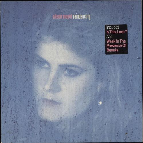 Alison Moyet Raindancing - Oblong stickered vinyl LP album (LP record) UK MOYLPRA708745