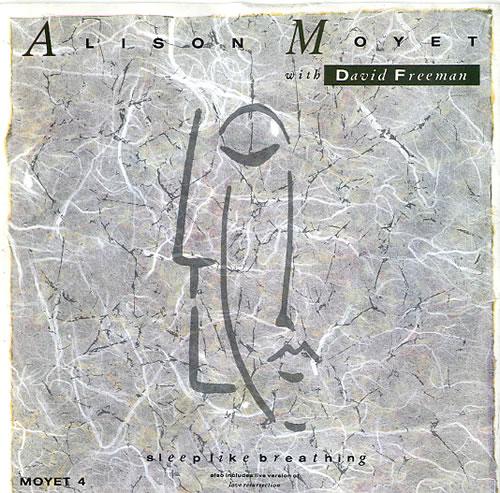 "Alison Moyet Sleep Like Breathing 7"" vinyl single (7 inch record) UK MOY07SL67219"
