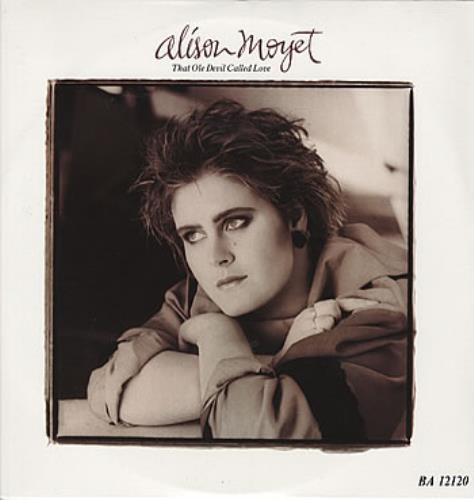 "Alison Moyet That Ole Devil Called Love 12"" vinyl single (12 inch record / Maxi-single) Australian MOY12TH310187"
