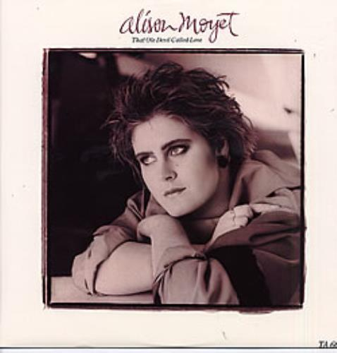 "Alison Moyet That Ole Devil Called Love 12"" vinyl single (12 inch record / Maxi-single) UK MOY12TH36989"