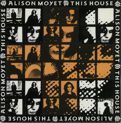 "Alison Moyet This House 7"" vinyl single (7 inch record) UK MOY07TH67220"