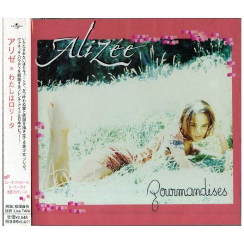 album alizée gourmandises