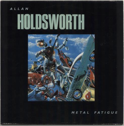 Allan Holdsworth Metal Fatigue vinyl LP album (LP record) Dutch AHOLPME718437