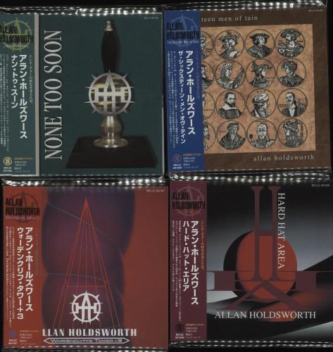 Allan Holdsworth Ten CD Album Set CD album (CDLP) Japanese AHOCDTE681500