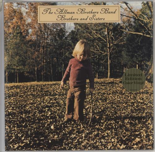 Allman Brothers Band Brothers And Sisters - 180gm Green - Sealed vinyl LP album (LP record) US ABRLPBR736246