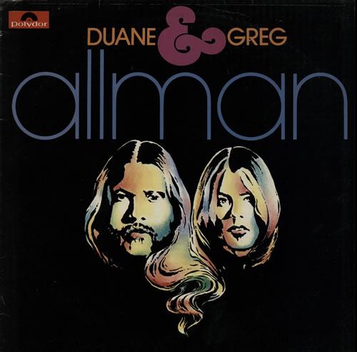 Allman Brothers Band Duane & Greg Allman UK vinyl LP album (LP ...