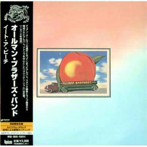Allman Brothers Band Eat A Peach Japanese CD album (CDLP