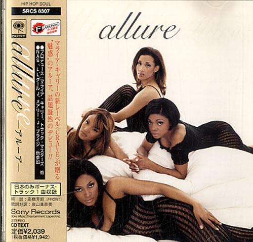 Allure Allure CD album (CDLP) Japanese LLRCDAL631806